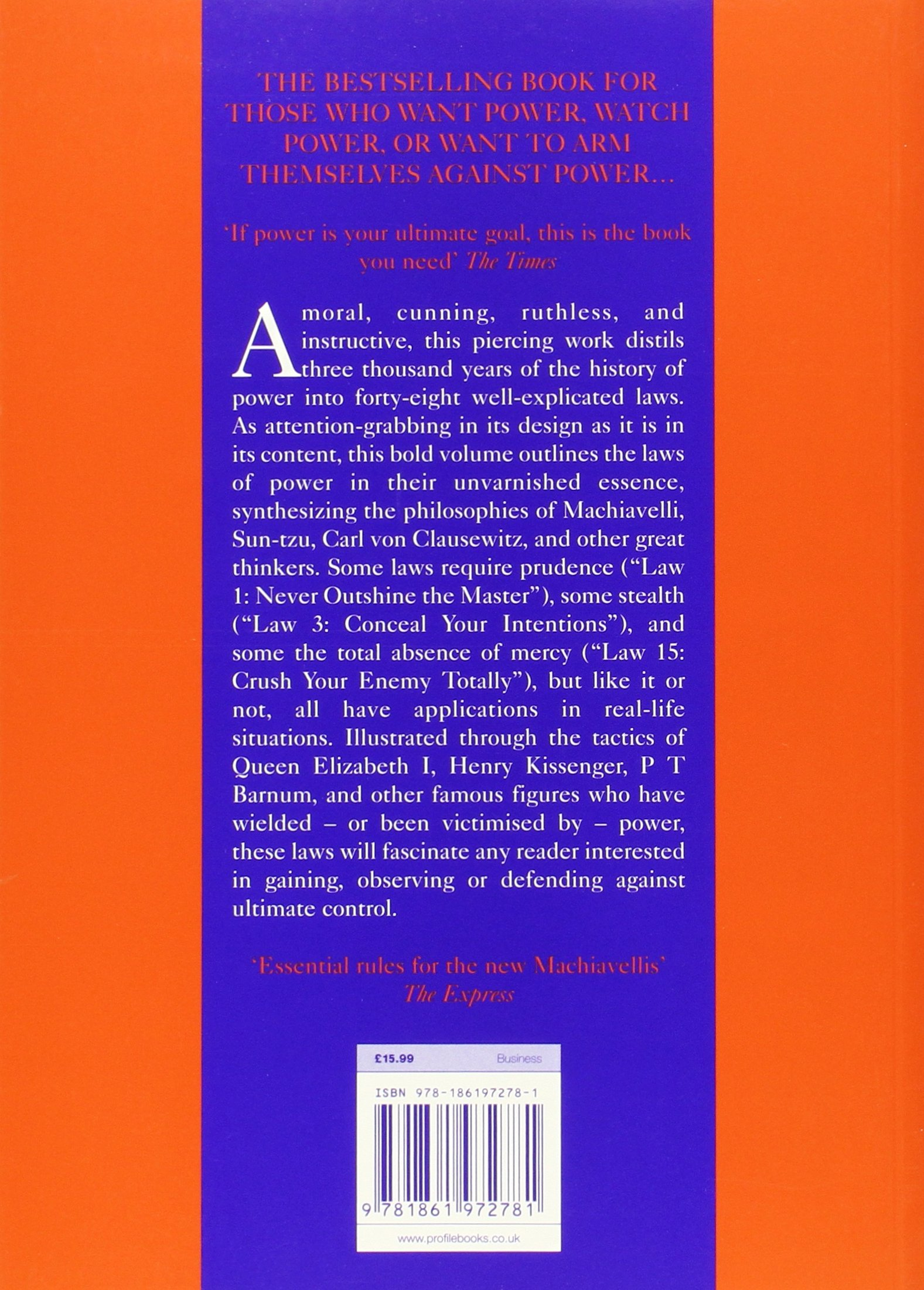 Buy The 48 Laws Of Power The Robert Greene Collection Book Online