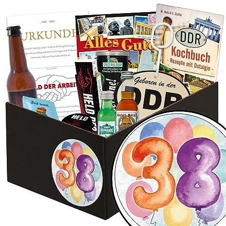 38 Geburtstag Geschenk Männer Box Geschenk Ideen 38