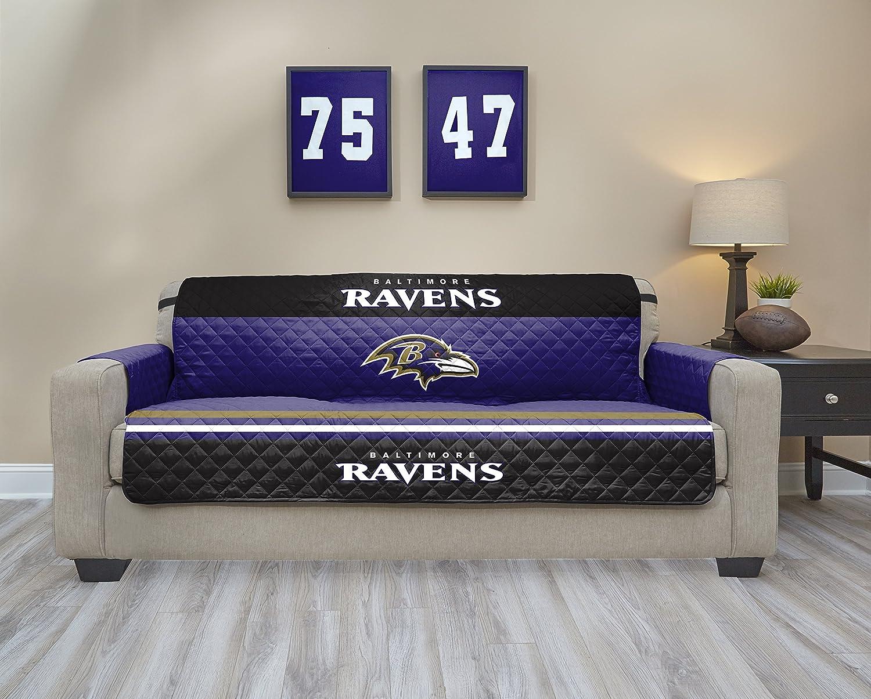 Amazon.com : NFL Baltimore Ravens Sofa Waterproof Furniture Protectors With  Pockets : Sports U0026 Outdoors