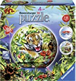 Ravensburger 12224 - Im Dschungel - 108 Teile puzzleball