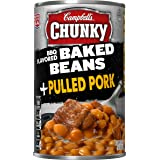 Campbell's Chunky Baked Beans, BBQ Flavored Plus Pulled Pork, 20.5 Ounce