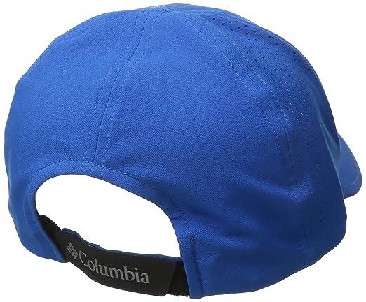 Columbia Slvr Rdge Bl CP Gorra, Hombre, Azul (Super Blue), O/S: Amazon.es: Deportes y aire libre
