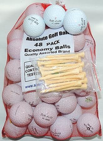 300 AAA Top-Flite Mix Recycled Golf Balls 25 Dozen