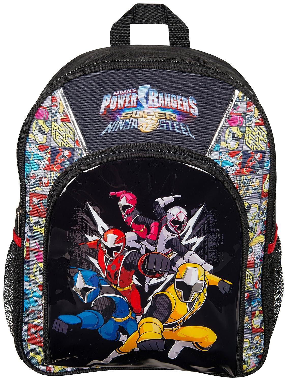 Power Rangers Super Ninja Steel Mochila Infantil Niño ...