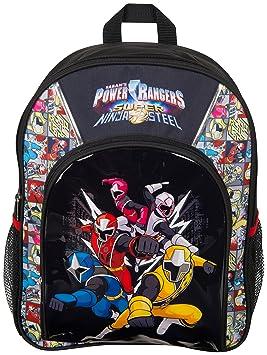 f0b3227ccce2 Power Rangers Sports Backpack Super Ninja Steel Blue Red Yellow Pink White  Ranger School Bag Rucksack