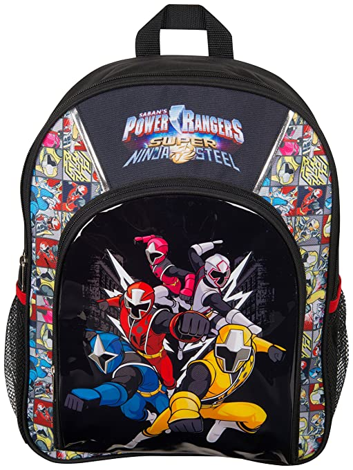Power Rangers Sports Backpack Super Ninja Steel Blue Red Yellow Pink White  Ranger School Bag Rucksack for Kids Back Pack for Boys  Amazon.co.uk   Luggage 8b1029b2b964a