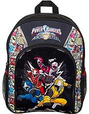99b860b843f8 Power Rangers Sports Backpack Super Ninja Steel Blue Red Yellow Pink White  Ranger School Bag Rucksack
