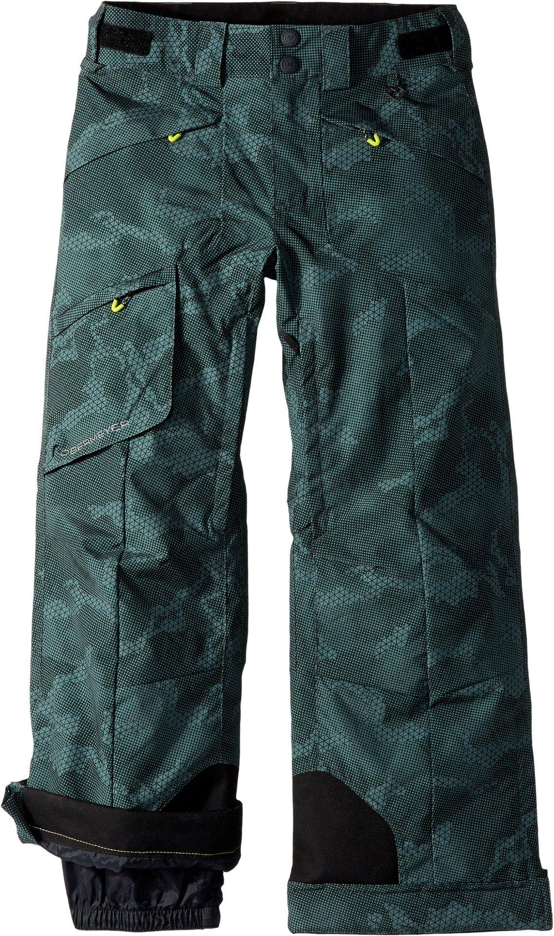 Obermeyer Kids Boy's Porter Pants (Little Kids/Big Kids) Bit Camo Medium by Obermeyer Kids