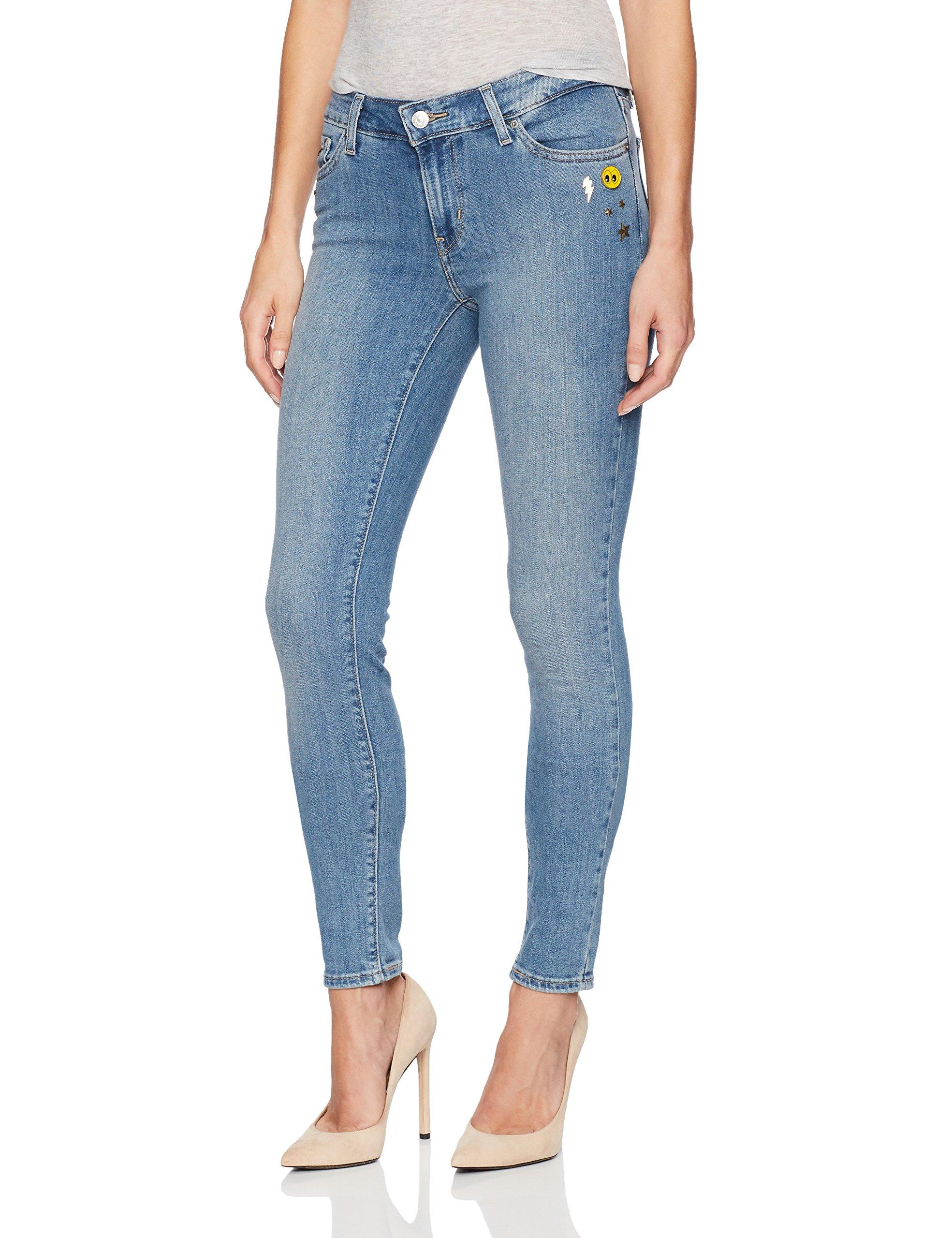 Levi's Women's 711 Skinny Jean (26 x 32L, Cheap Thrill)