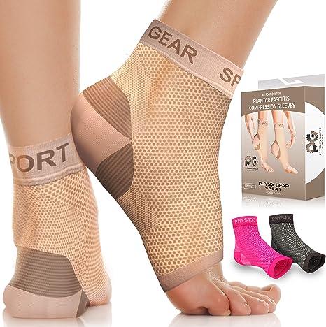 Ryaco Compression Socks For Plantar Fasciitis for Men and Women Esq. 2 Pair