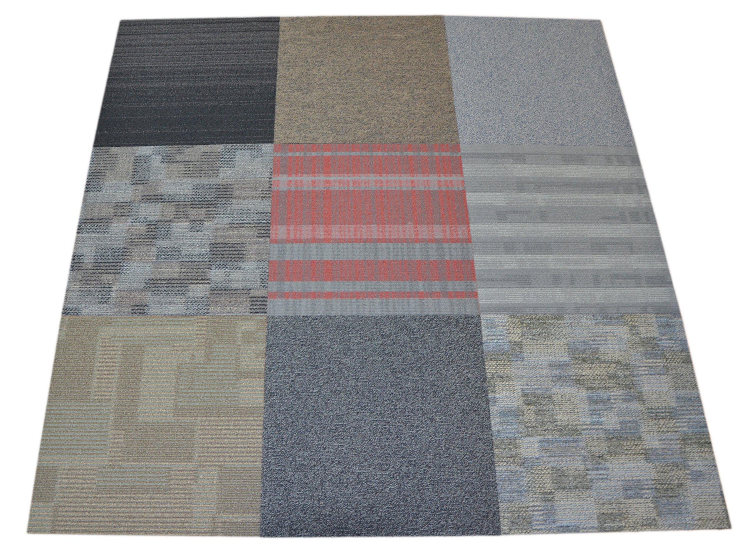 Dean commercial carpet tile random assorted colors 40 square dean commercial carpet tile random assorted colors 40 square feet baanklon Image collections