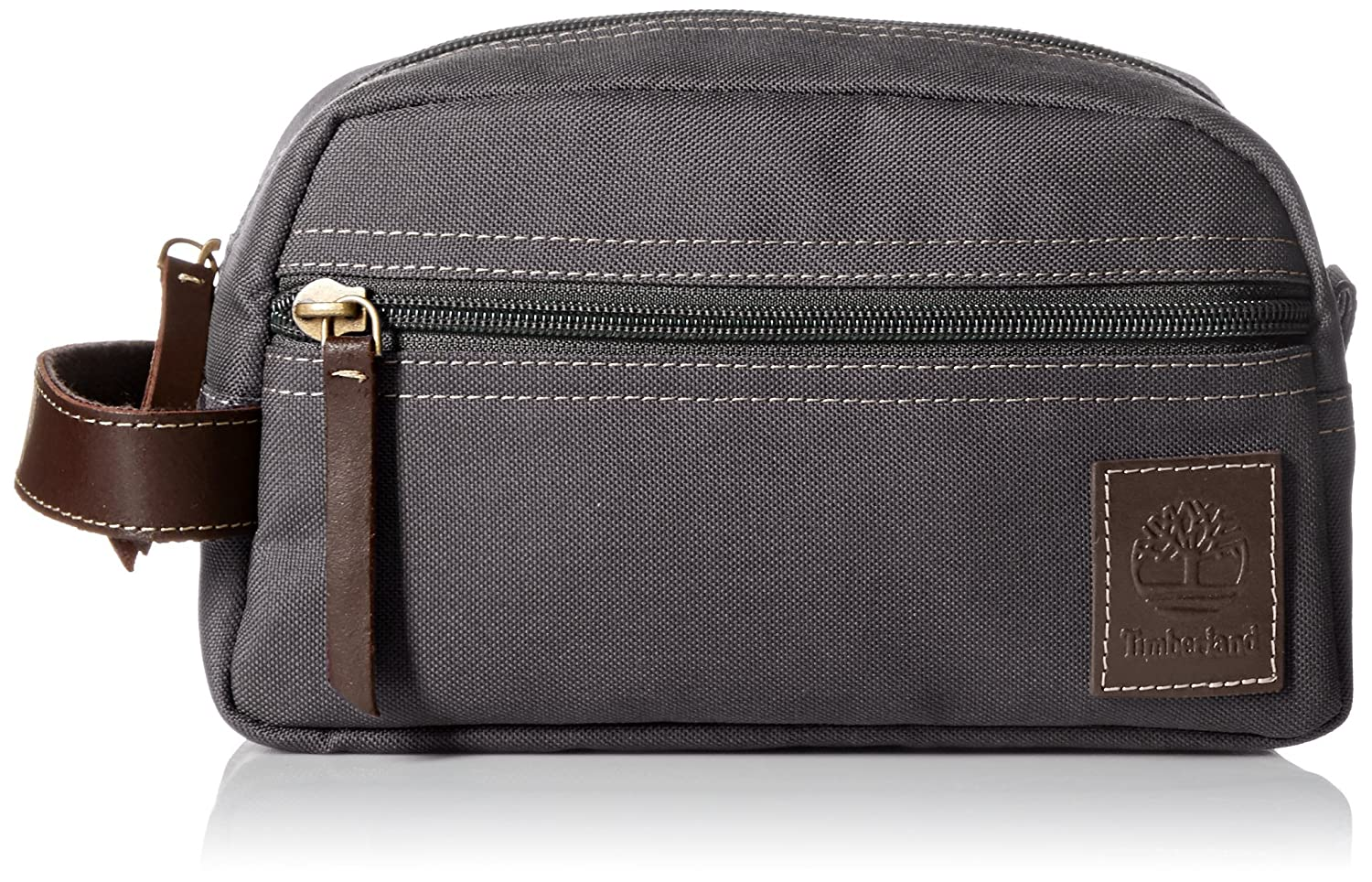 aed29c9ecbe7 Amazon.com  Timberland Men s Toiletry Bag Canvas Travel Kit Organizer