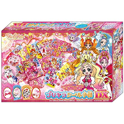Amazon.com: GO. PRINCESS Precure notebook con pegatinas DX ...