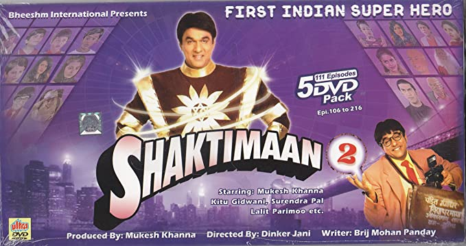 Amazon in: Buy Shaktimaan - 2 DVD, Blu-ray Online at Best Prices in