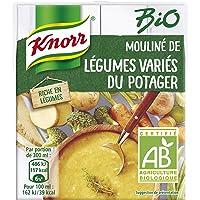 Knorr Soupe Liquide Bio Mouliné de Légumes Variés du Potager 30 cl