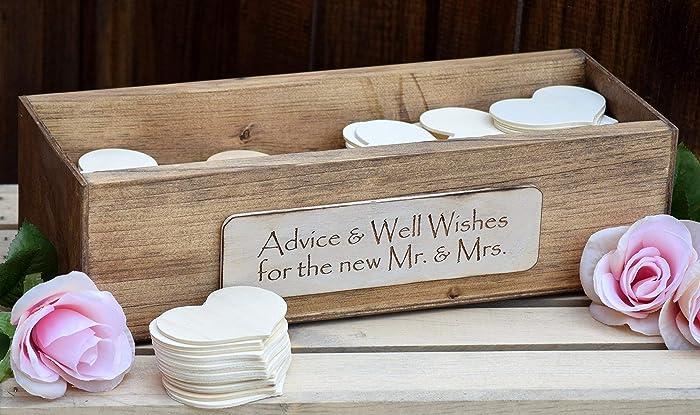 Wedding Wishing Well.Amazon Com Rustic Wedding Advice Box Wishing Well