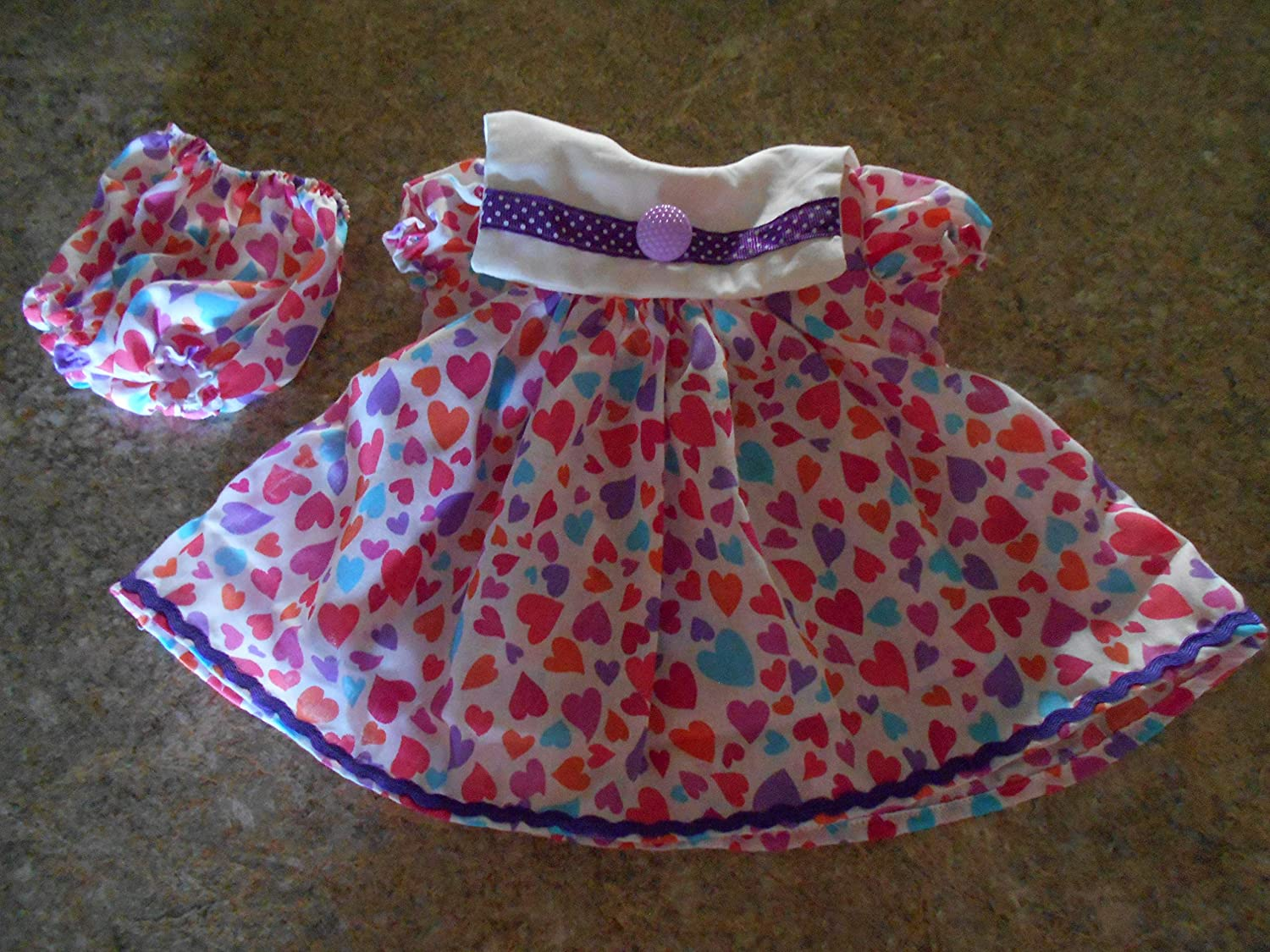 VINTAGE CHATTY CATHY 18-20 VALENTINES DAY DRESS/&PANTIES