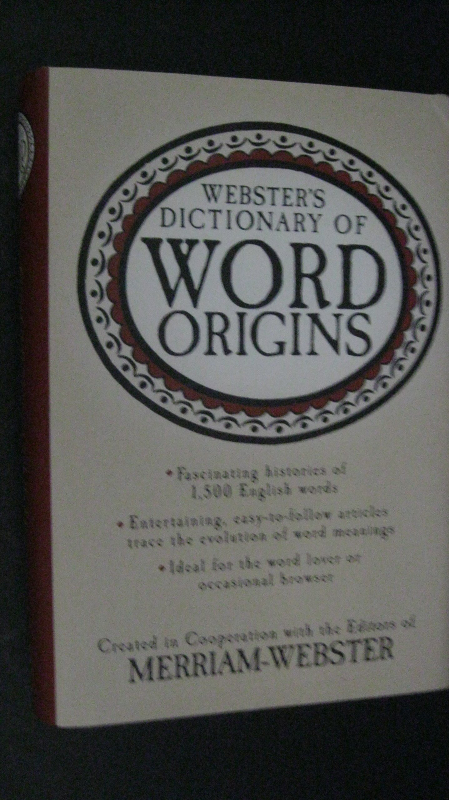 Webster's Dictionary of Word Origins, Merriam-Webster