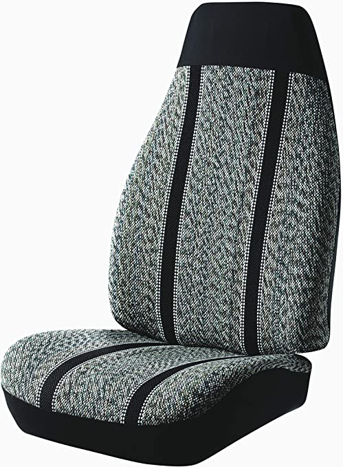 Fia Front 40//20//40 Split Custom Fit Seat Cover Tweed Gray