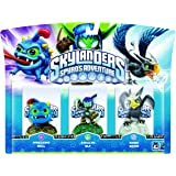 Skylanders - Triple Pack D: Stealth Elf, Wrecking Ball, Sonic Boom