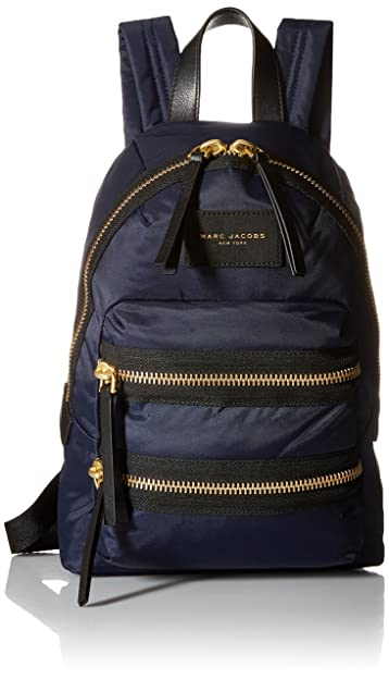 da59c7991 Amazon.com: Marc Jacobs Nylon Biker Mini Backpack, Midnight Blue ...