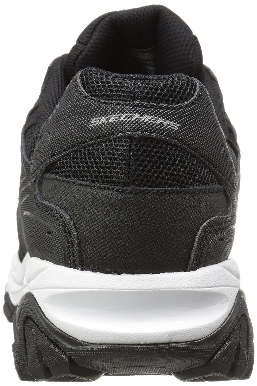 Skechers Sport Herren Afterburn Memory Foam Lace Black/Royal
