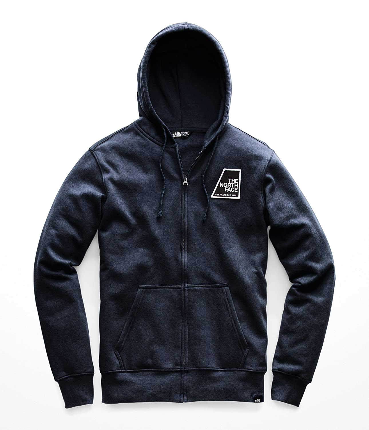 The North Face Men s Full Zip Patches Hoodie at Amazon Men s Clothing store  eafcedae6