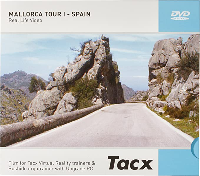 Tacx Fortius I - Magic DVD Mallorca Tour I - Spain: Amazon.es: Deportes y aire libre