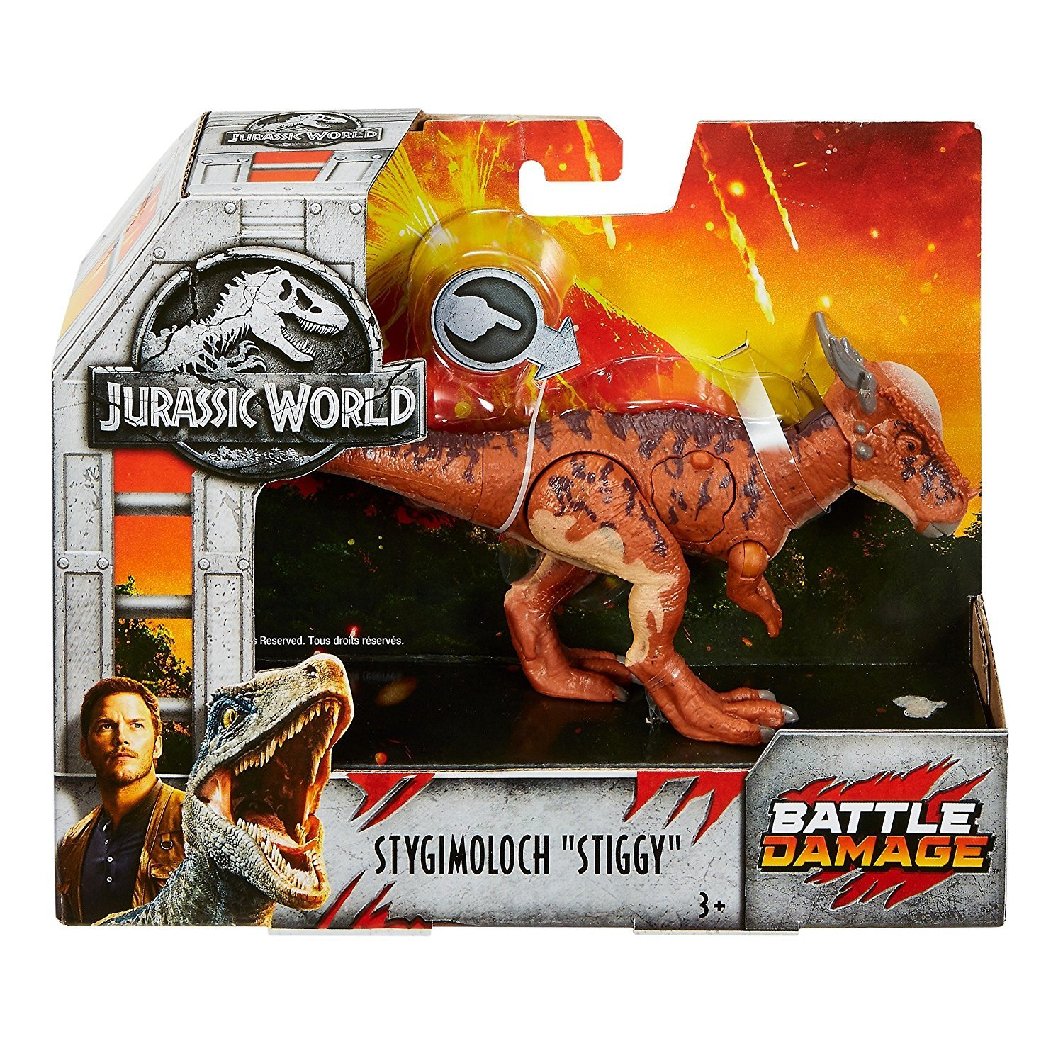 Jurassic World Fallen Kingdom Stygimoloch