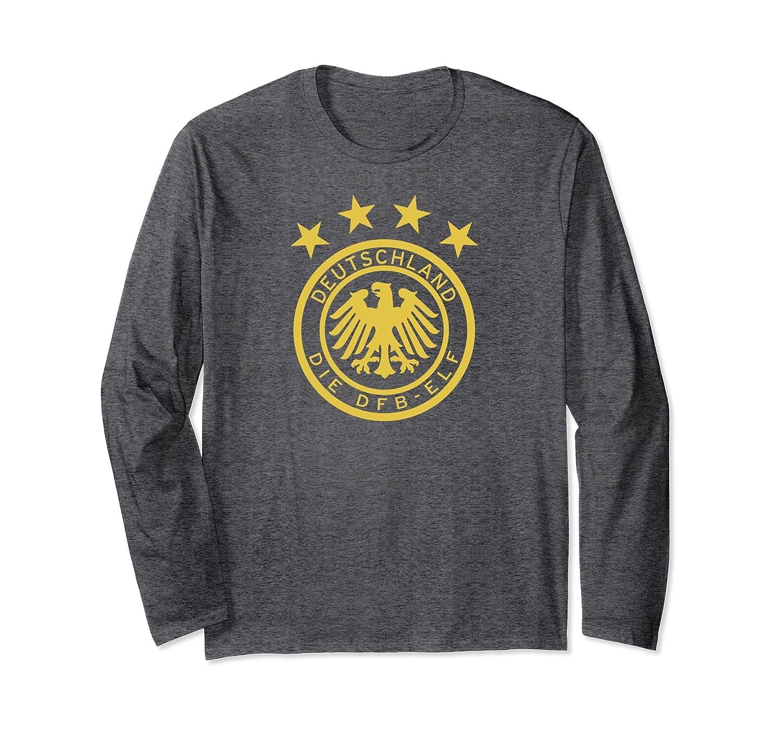 Long Sleeve Germany Die Mannschaft Football Soccer T-Shirt-Samdetee