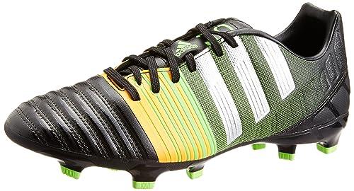 super popular e1c9b 8c688 adidas Nitrocharge 3.0 Fg, Chaussures de football homme - Noir  (Noiess Argmet