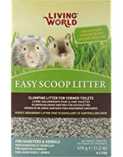 Living World Hamsters/Gerbils Easy Scoop Litter, 1.2-Pound