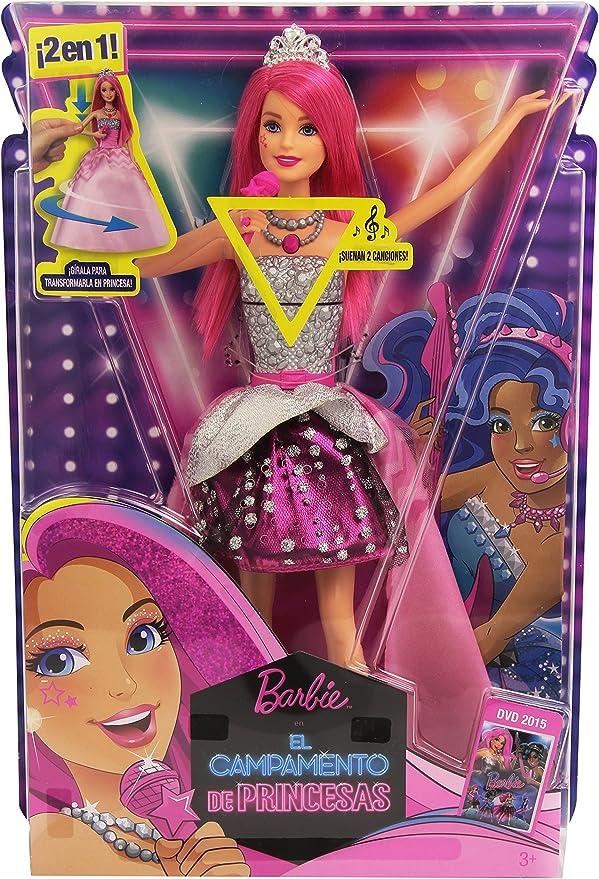 Amazon.es: Barbie - Courtney, Estrella Rock, en Campamento de Princesas (Mattel CMR85): Juguetes y juegos