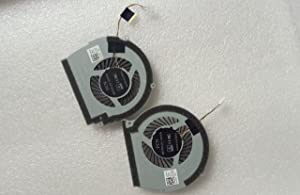 ZHENHUIYOU New for DELL 15R 7566 7567 Cooling Fans 0147DX 0NWW0W L+R