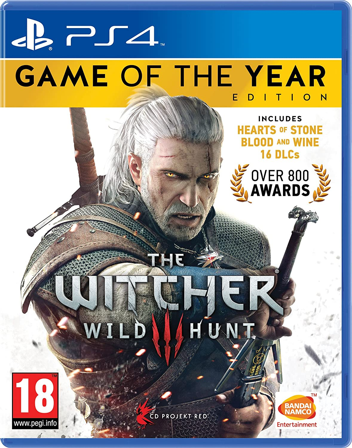 The Witcher 3 Game of the Year Edition (PS4): Amazon co uk