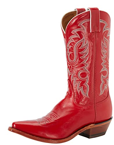 Amazon.com | Nocona Boots Women's Red Soft Ice Boot | Mid-Calf