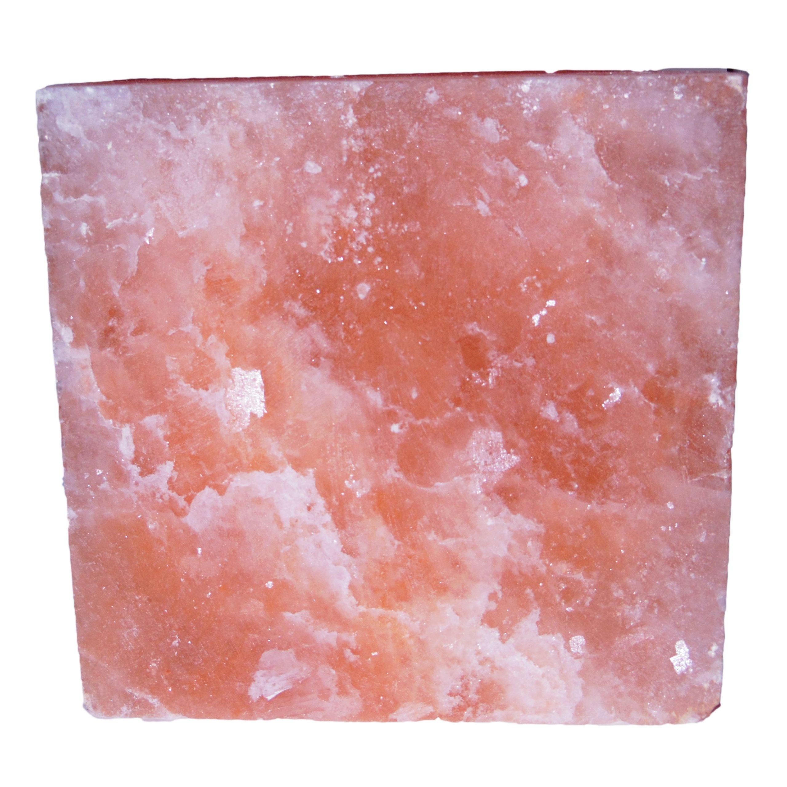 Natural Himalayan Salt Plate / Slab / Block Pink Square 8x8x2-Inch by SaltSkil (Image #2)