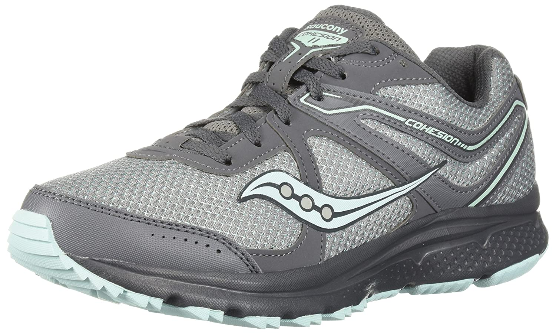 Saucony Women's Cohesion TR11 Running Shoe B071ZZMDMR 11 W US|Grey/Mint