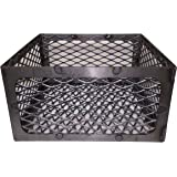 Total Control BBQ Charcoal Basket smoker pit (fire box) 15 x 15 x 8 Horizon New Braunfel Old Country