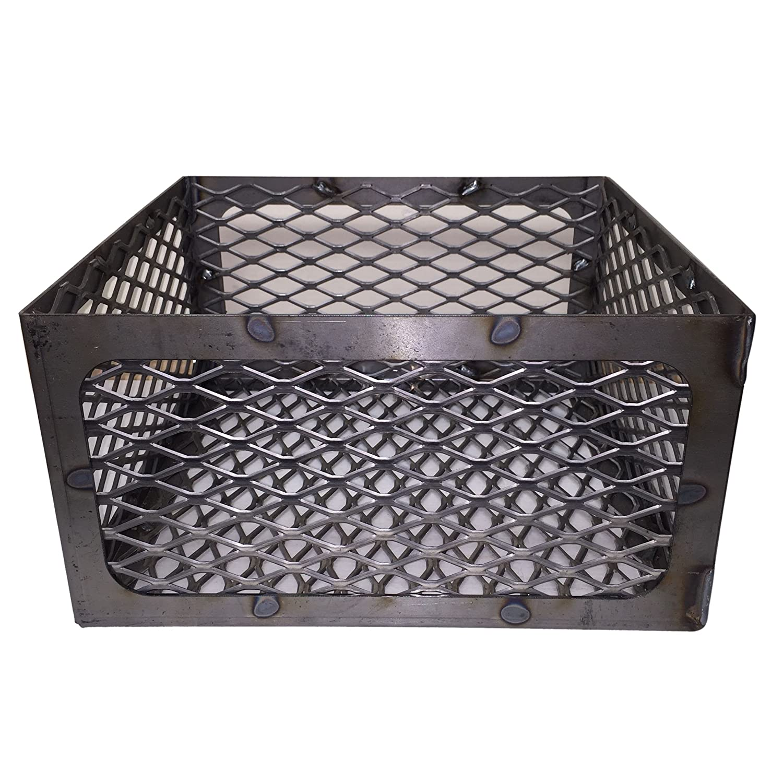 amazon com total control bbq charcoal basket smoker pit fire