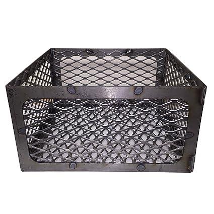 Amazoncom Lavalock Total Control Bbq Charcoal Basket Smoker Pit