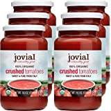Jovial Crushed Tomatoes | Non-GMO Project Verified | USDA Certified Organic Tomatoes | No Additives | BPA-Free | No…
