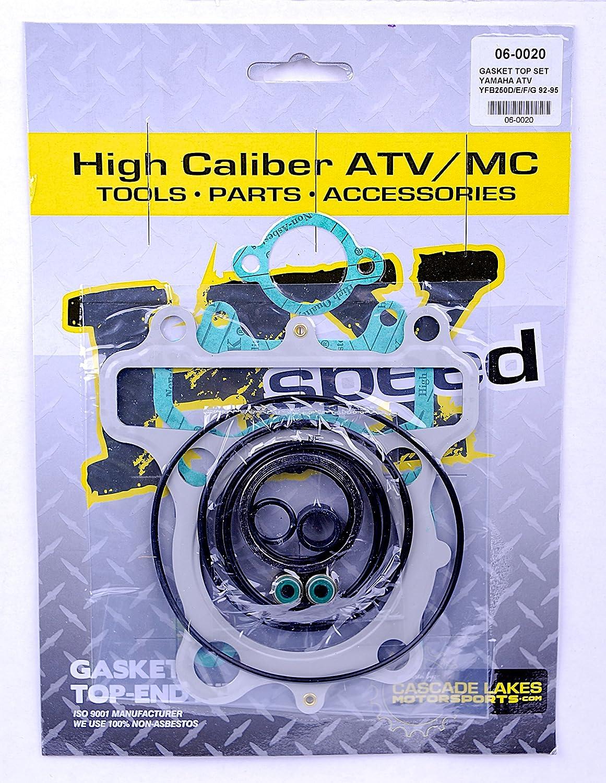 Exhaust Gasket Kit For 1993 Yamaha YFB250 Timberwolf 2x4 ATV Winderosa 823070