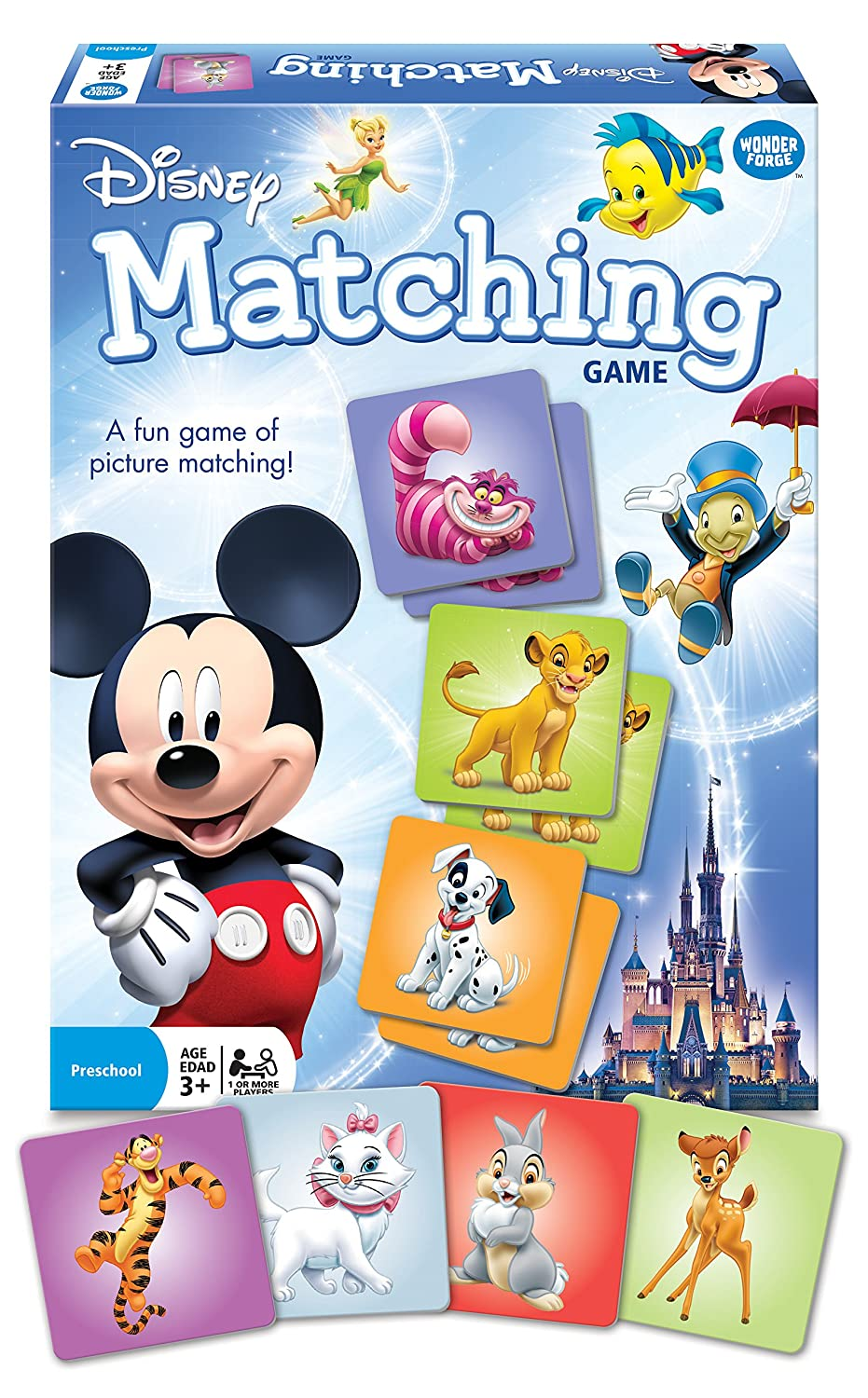 Uncategorized Disney Memory Game amazon com disney classic characters matching game unknown toys games