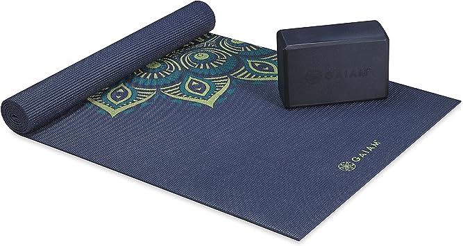 Amazon.com: Gaiam Premium - Kit de cojín y soporte para yoga ...