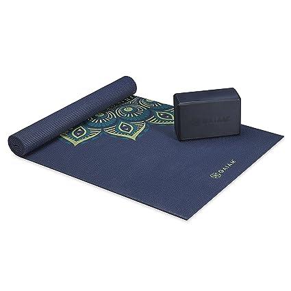 gaiam - Premium Kit de Soporte y cojín de Yoga, Premium ...