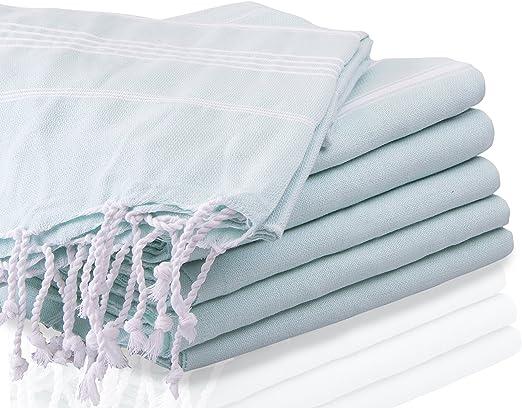 LaModaHome Juego de 3 XL – 100% algodón Turco de baño Playa Yoga ...