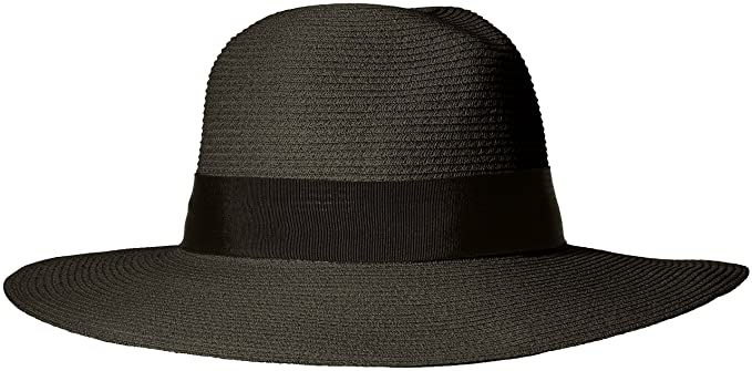 ale by alessandra Women s Terranea Toyo Fedora With Ribbon Trim and Rated  UPF 50+ c0e2f981a788