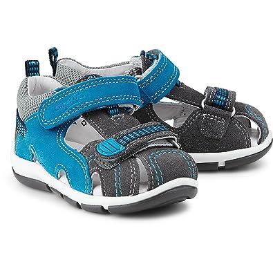 d7689bb540dc6 superfit Enfants Sandales Gris Bleu Garçon Sandale en Cuir de la Taille 20  à 25,