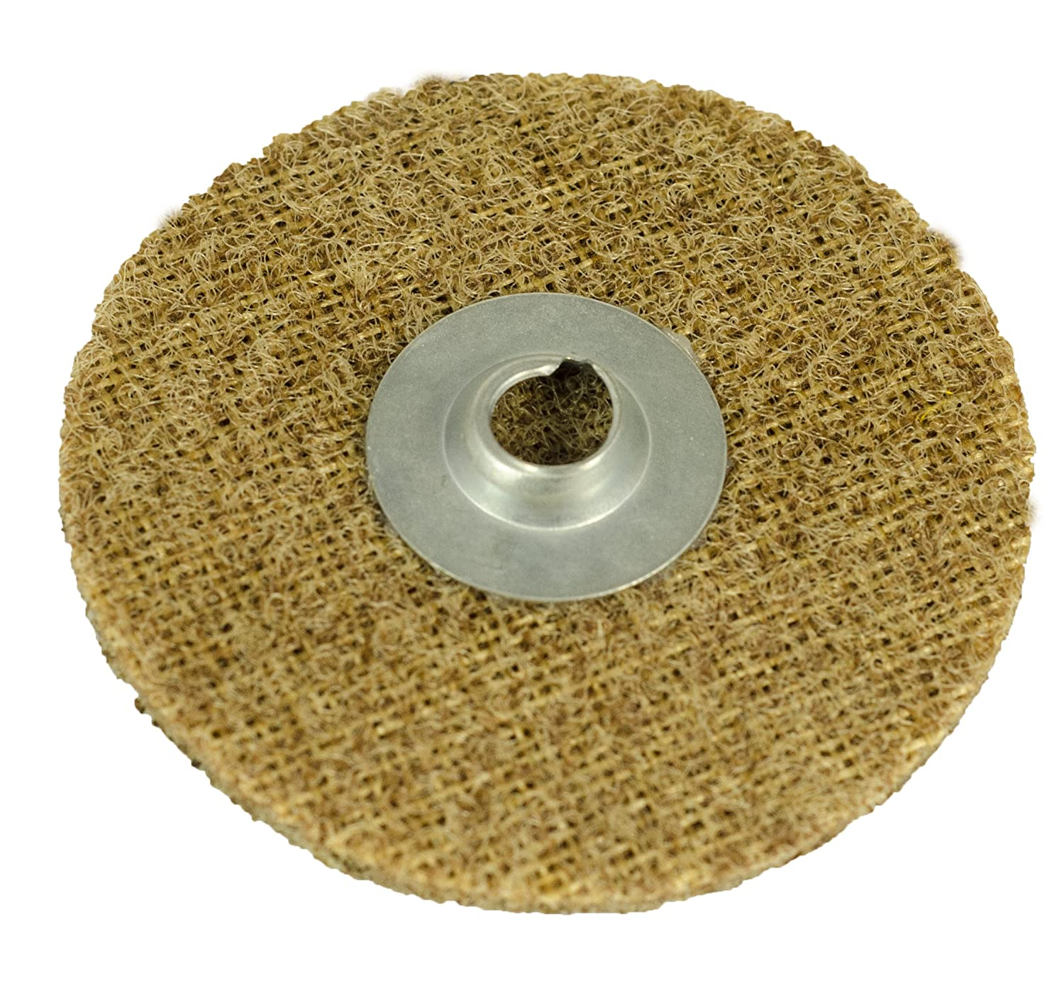 2-Inch Diameter 50-Pack Arc Abrasives 59341 Type R Grade A CRS Quick-Lok Surface Conditioning Disc